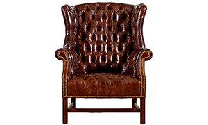 Tufted Wing Chair