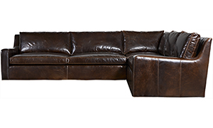 Santa Cruz Leather Sectional