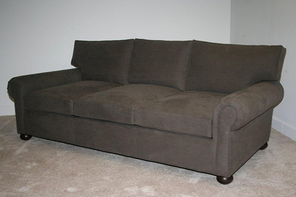Manchester Fabric Sofa upholstered in Army Charcoal