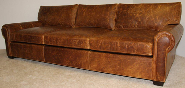 Manchester Grande Sofa 112 in Brentwood Tan