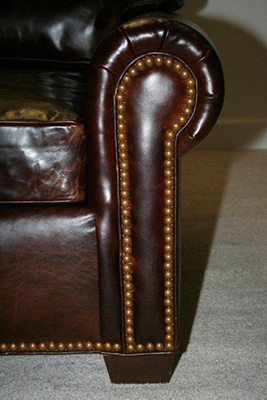 Close up Nailhead Trim