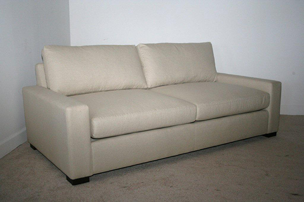 Madison Sofa with 2 Seat Cushions and Two back Cushions In Fabric