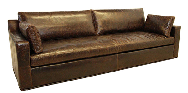 Prescott Track Arm Sofa with bench seats