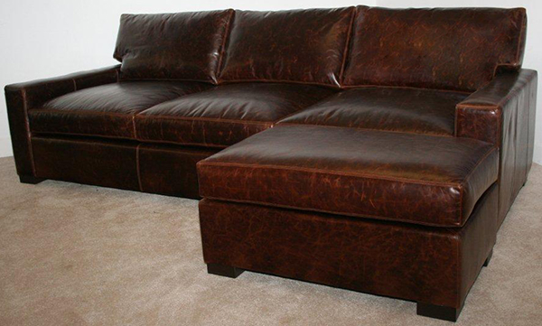 Madison Sofa with seat ottoman