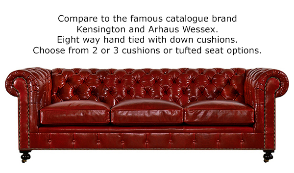 Kingsbridge Leather Sofa