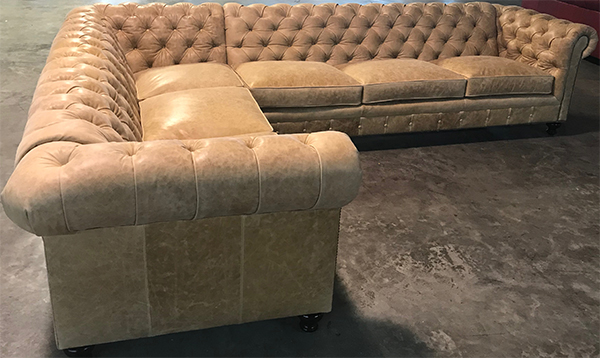 Kingsbridge Sectional - Burnham Sunflower