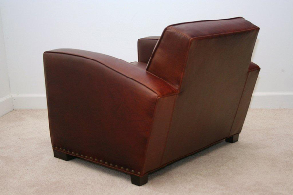 Studio Leather Chair side view