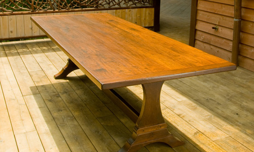 French Country Trestle Table